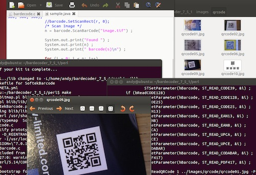 linuxdesktop Barcode Reader Toolkit for Linux