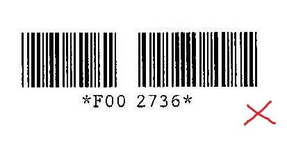 There's a hole in my barcode!!! And other common pitfalls